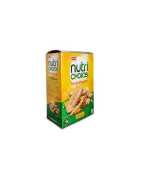 BRITANNIA NUTRICHOICE HI FIBRE DIGESTIVE BISCUITS 250g