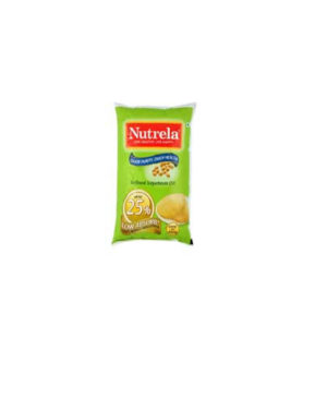 NUTREELA REFINE SOYBEAN OIL 1 Ltr