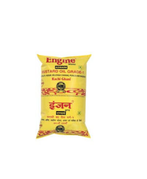 ENGINE MUSTARD OIL 1 LTR PACKET