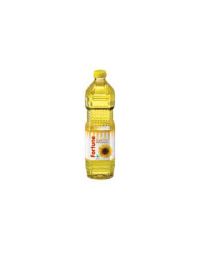 FORTUNE SUNLITE REFINED SUNFLOWER OIL 1 LTR BOTTLE