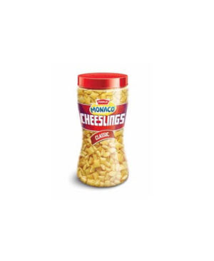 PARLE MONACO CHEESLINGS CLASSIC 150 GM 1